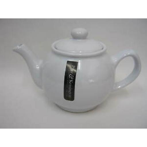 Price And Kensington White Small Pot Teapot 2 Cup 0056.716
