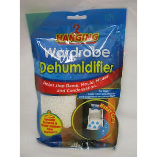 151 Moisture Hanging Wardrobe Dehumidifier Damp Bag 210g