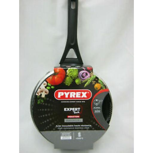 Pyrex Expert Touch Stainless Steel Saucepan Pan 20cm ET20APX/6144