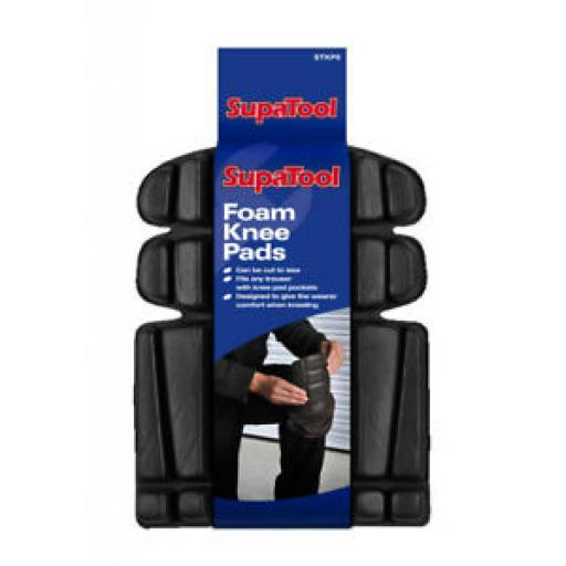 Supatool Comfortable Foam Knee Pads Pk2 STKP5