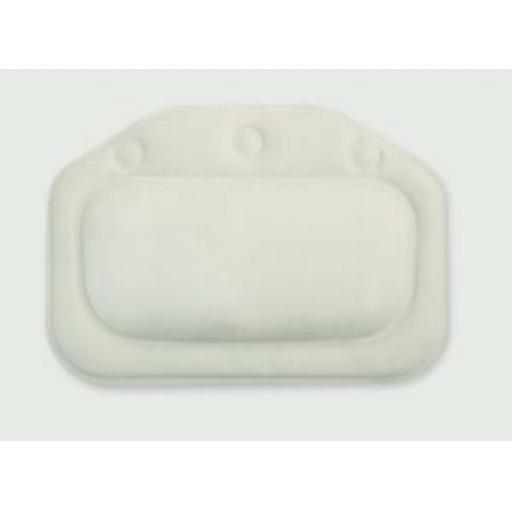Croydex Standard Bath Pillow White/Cream BG207022
