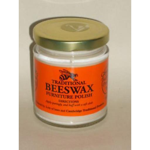 Cambridge Traditional Natural Beeswax Wood Furniture Polish Cream 142g