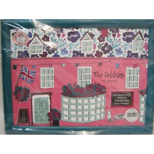 English Tableware Co Large Serving Dinner Padded Lap Tray The Cobbles Tea Room