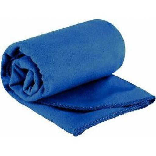 Summit Microfibre Travel Towel Blue Large 120cm x 60cm 763004