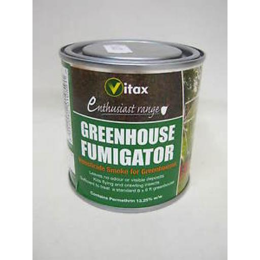 Vitax Greenhouse Fumigator Insecticide Smoke 3.5g Kills Insects