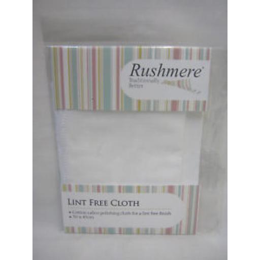 Rushmere Lint Free Cloth Cotton Calico 30cm x 45cm