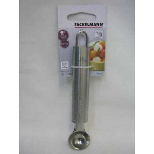 Fackelmann Stainless Steel Melon Fruit Ice Cream Scoop Balls Baller 6404390