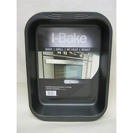 """I-Bake Large 15"""" Roast Roasting Bake Grill Pan Tray 5585"""