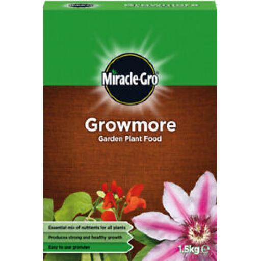 Miracle Gro Growmore Fertilizer 1.5kg