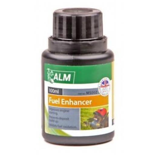 ALM Lawnmower Fuel Petrol Enhancer Improver 100ml MS002