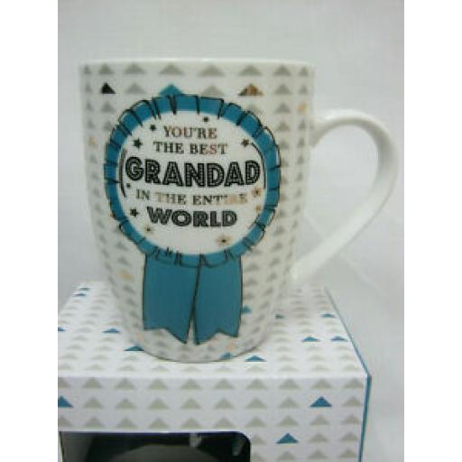 BGC Ceramic Mug Beaker Cup Tea You're The Best Grandad In The Entire World XQ061