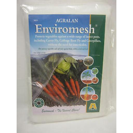 Agralan Enviromesh Standard Pack 4.5m x 2.1m Protects Vegetables HA571