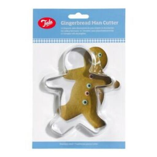 Tala Stainless Steel Gingerbread Man Pastry Cutter Ref 9134