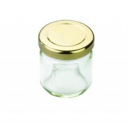12 x Tala Glass Mini Breakfast Jam Jar 10A00178
