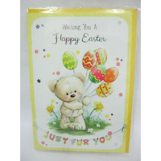 Wishing You A happy Easter Just For You Card