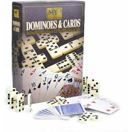 M.Y Traditional Games Dominoes And Playing Cards TY2134