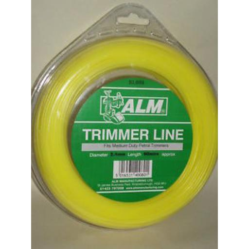 ALM Medium Weight Duty Trimmer Line For petrol Trimmers 2.4mm 90m SL008