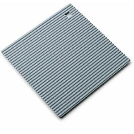 Zeal Heat Resistant Silicone Kitchen Hot Mat Square Trivet J238 Duck Egg 18cm