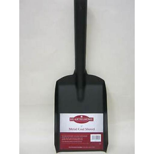 """Black Metal Coal Ash Garden Pot Shovel 5"""" 12.5CM"""