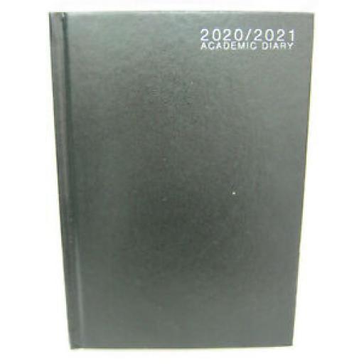 Tallon Mid Year Academic Diary A5 2020/21 Hard Back Black