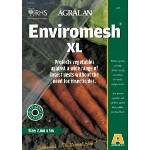 Agralan Enviromesh XL For Tall Crops Pack 2.6m x 5m Protects Vegetables HA572