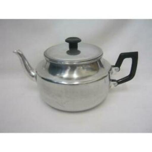 Pendeford Traditional Metal Aluminium Teapot 6 Cups 1 Litre Tea Pot TP06