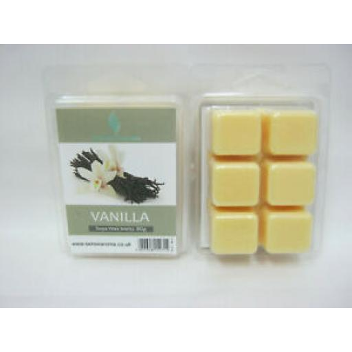 2 x Sense Aroma Fragranced Soy Wax Melts Vanilla 80g