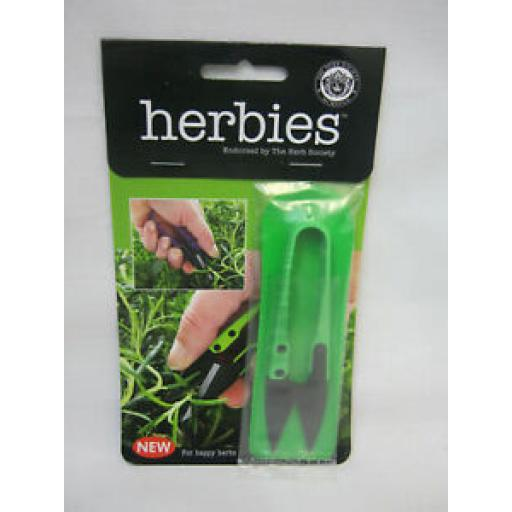 Herbies Handy Deadheading Deadhead Garden Mini Snips Snippers Green