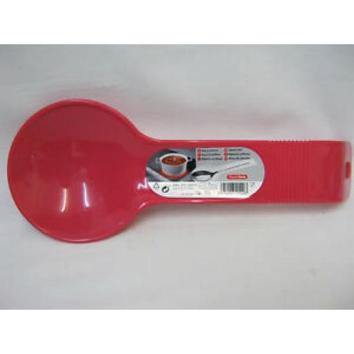 Albero PlasticForte Large Plastic Spoon Rest Pink 11540