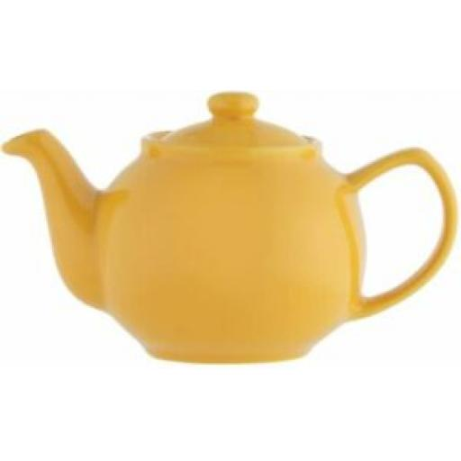 Price And Kensington Small Pot Teapot 2 Cup 0056.781 Mustard Yellow