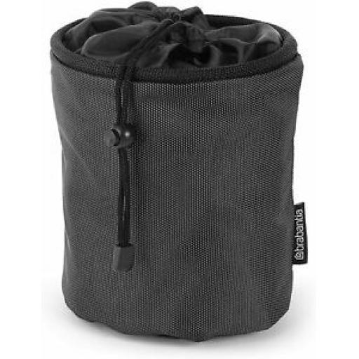 Brabantia Premium Draw String Peg Pouch Bag Black 105760