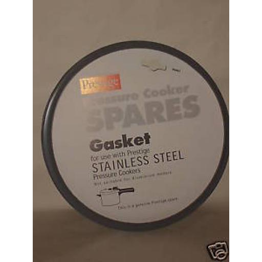 Prestige Grey Gasket For A Stainless Steel Pressure Cooker NP96461