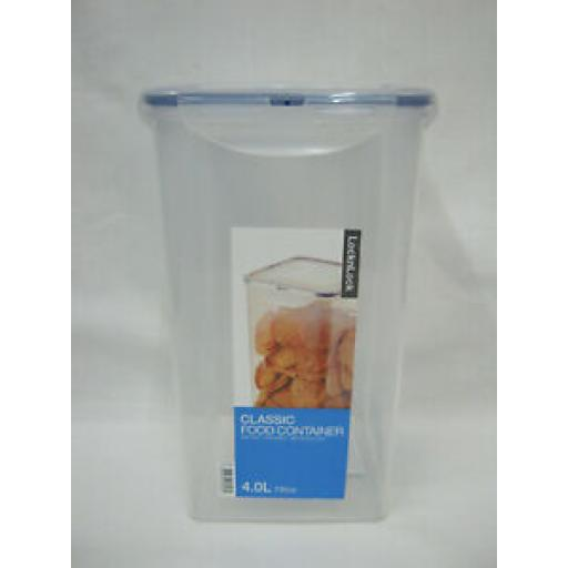 Lock and & Lock Tall Rectangular 4ltr Food Container HPL822R