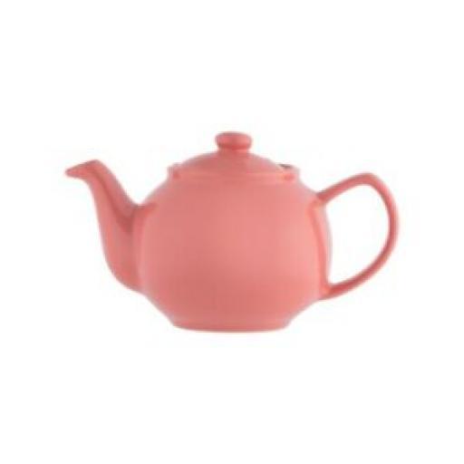 Price And Kensington Small Pot Teapot 2 Cup 0056.777 Flamingo Pink