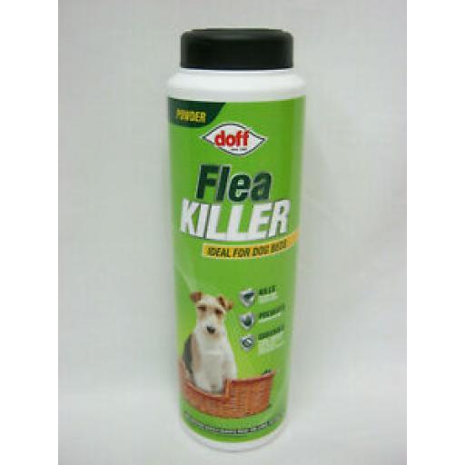 Doff Flea Carpet Beetles Ants Cockroackes Woodlice Killer Powder 240g
