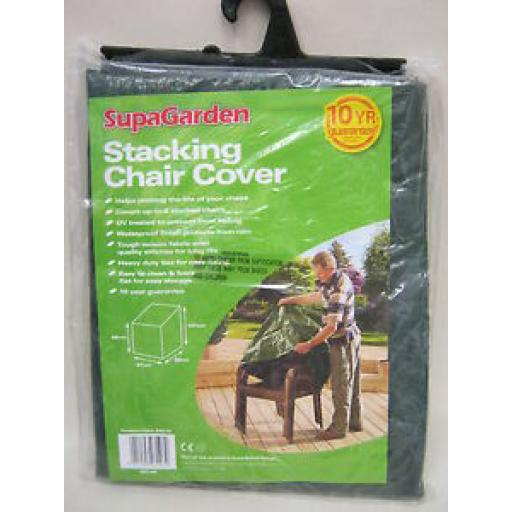 Supa Stacking Garden Chair Cover Up To 6 Chairs Green SGC15