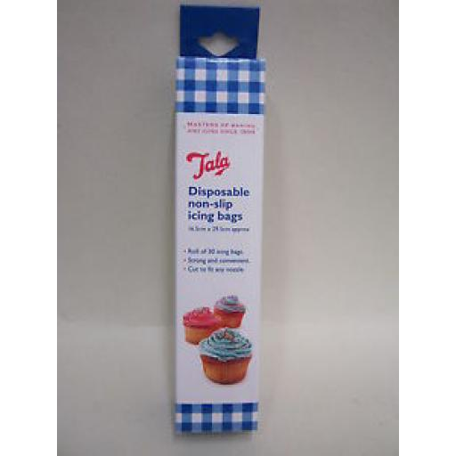 Tala Disosable Non-Slip Icing Bags Blue Roll Of 30 9925