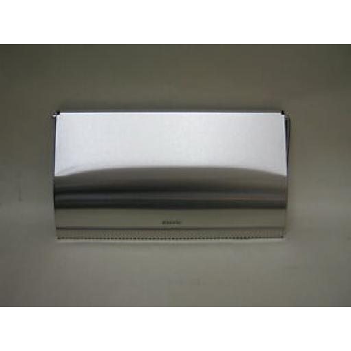 Brabantia Kitchen Paper Towel Roll Holder Matt Steel Wall Mounted 313868