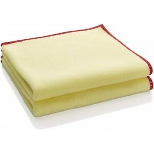 E-Cloth Dusters Cloth Yellow 30cm x 33cm Pk 2