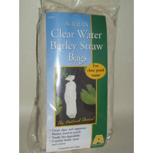 Agralan Clear Water Barley Straw Bags Clears Pond Algae Pk2 HA97