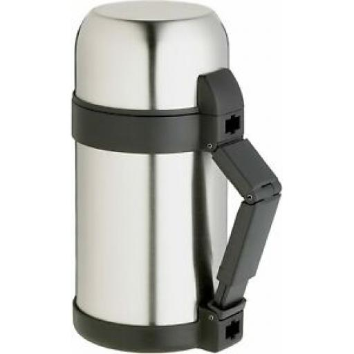 Masterclass Vacuum Food Flask Stainless Steel 1 Litre KCMCFOODSS