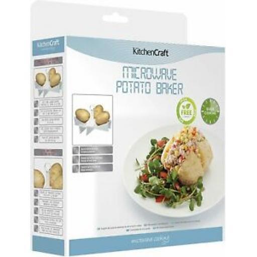 Kitchencraft Microwave Potato Baker KCMBAKER