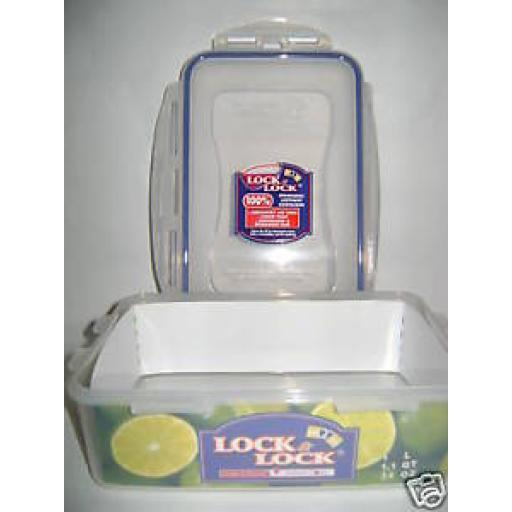 Lock and & Lock Rectangular 1ltr Food Container HPL817