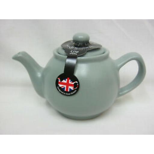 Price And Kensington Small Pot Teapot 2 Cup 0056.725 Matt Grey