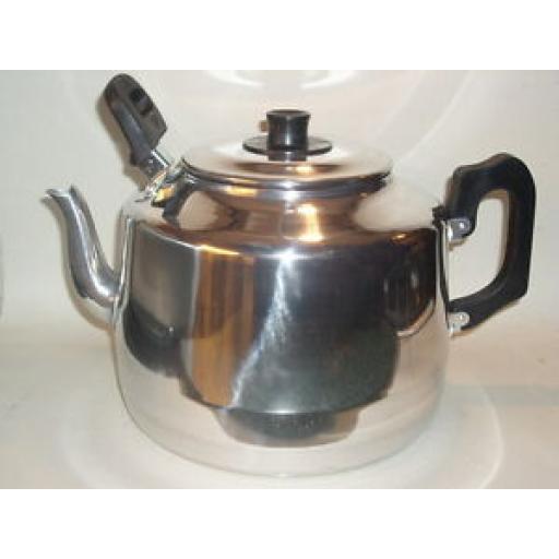 Pendeford Traditional Metal Catering Teapot 8 Pints 4.5 Litres Tea Pot
