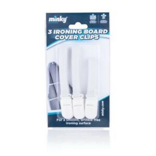 Minky Ironing Board Clips Pk3 VH80500101