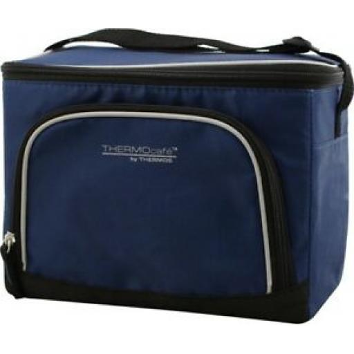 Thermos Thermocafe Insulated Cooler Cool Bag 12 Can 6.5 Litre Navy 157961