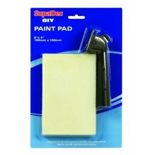 "Supadec DIY Paint Pad And Handle 6"" x 4"" EPP64"