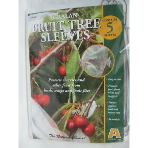Agralan Fruit Tree Sleeves Pk5 1m x 30cm Protect Fruit From Birds HA596