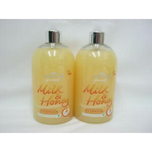 Astonish Milk And Honey Antibacterial Handwash Pk2